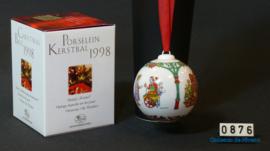 1998 Kerstbal Porselein, Hutschenreuther