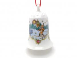 1981 Kerstklokje porselein merk Hutschenreuther ZONDER DOOSJE !