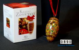 2000 Kerstbal kristal, Hutschenreuther