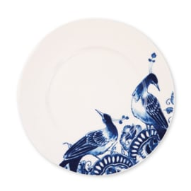 Royal Delft model Peacock  Dessertbord