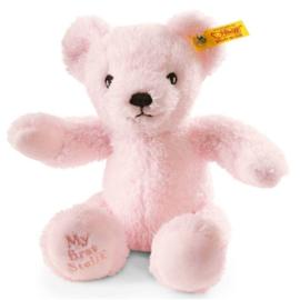 664717   Steiff mijn eerste teddybeer, roze