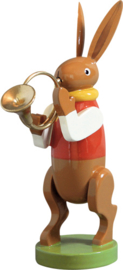 5350/17 Hazen muzikant met waldhoorn
