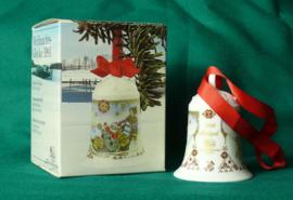 1991 Kerstklokje Hutschenreuther  porselein