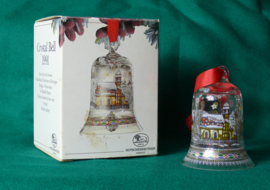 1991 Kerstklokje Hutschenreuther  Kristal