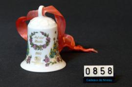 1993 Kerstklokje porselein, Hutschenreuther