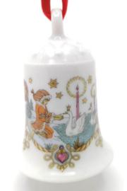1983 Kerstklokje porselein merk Hutschenreuther