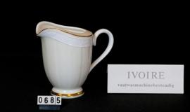 """model Ivoire """" Melkkannetje """"  0,25 liter"""