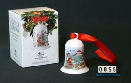 1994 Kerstklokje porselein,  Hutschenreuther