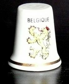 Vingerhoedje België porselein