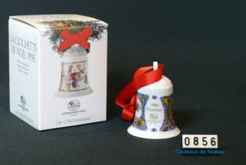 1995 Kerstklokje porselein, Hutschenreuther