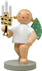 650/117  Engel met gouden kandelaar