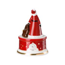 2018 kerst Speeldoos Hutschenreuter porselein klein