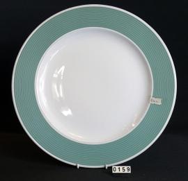 model Grootbord rand groen Ø 32 cm