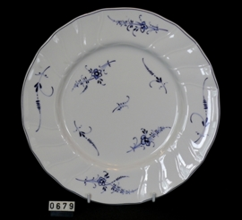 """model Vieux Luxembourg """"Dinnerbord """"  26 cm"""
