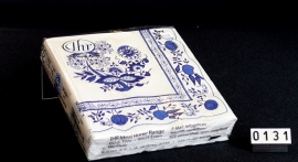 Papieren servetten, Blau Zwiebelmuster