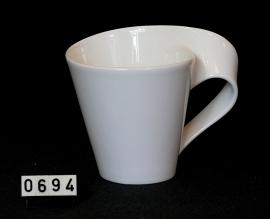 model New Wave -Beker met oor  0,25 liter