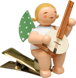 650/90/59 Engel met banjo (op klem)