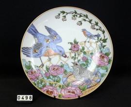 model Wandbord ,  Blue bird
