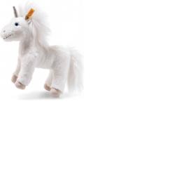 087783 Unica floppy Eenhoorn Staand wit 25cm Steiff