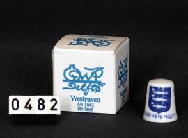 Vingerhoedje, Westraven Delftsblauw