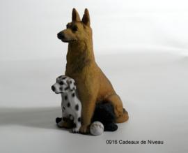 Rashond, Compositie van drie honden