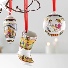 2018 Kerst laars porselein 2018 Hutschenreuther