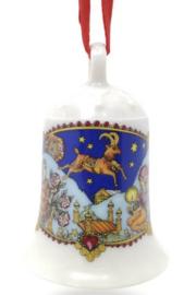 1979 Kerstklokje porselein merk Hutschenreuther ZONDER DOOSJE!