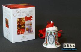 2004 Kerstklokje porselein, Hutschenreuther