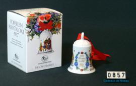 1997 Kerstklokje porselein, Hutschenreuther