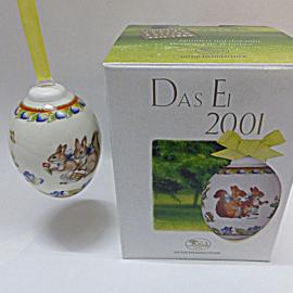"2001  ""Eekhoorns"" Hutschenreuther model Ei"