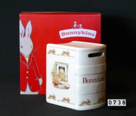 """model Bunnykinds  Spaarpot """"Boek """""""