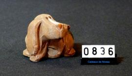 Handgemaakt uit Uruquay model klein hondje