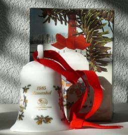 1985 Kerstklokje porselein merk Hutschenreuther