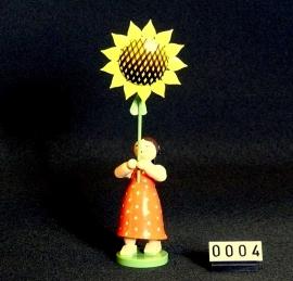 5248/7  Meisje met zonnebloem