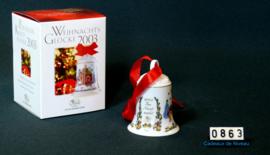 2003 Kerstklokje porselein, Hutsenreuther