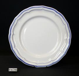 model Files Bleus Ø 27 cm  Platbord, Gien