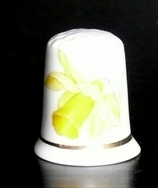 Vingerhoedje Narcis Porselein