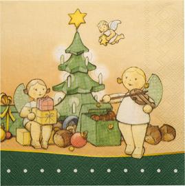 526/22 Weihn Kerstservetten