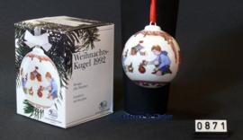 1992 Kerstbal Porselein, Hutschenreuther