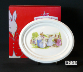model Bunnykinds  Wandbordje Royal Doulton
