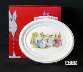 model Bunnykinds  Wandbordje Royal Doulton