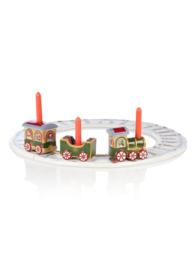 Villeroy & Boch Trein met rails 42 cm -Porselein