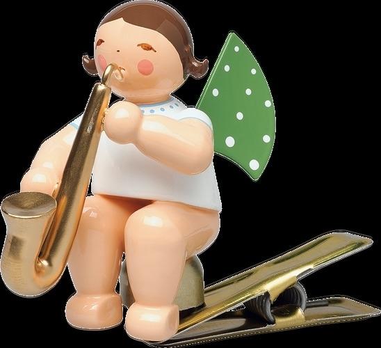 650/90/54  Engel met Saxofoon  (clip )