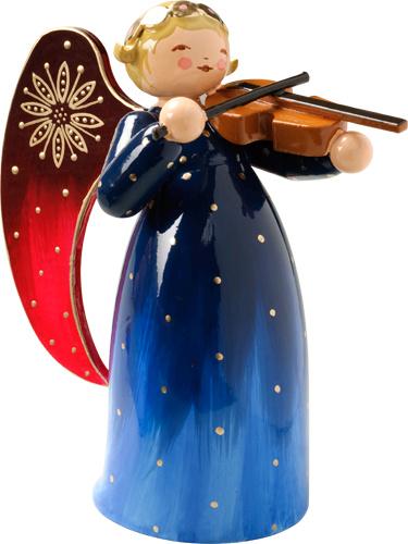 553/2R Engel met viool- 5,5 cm