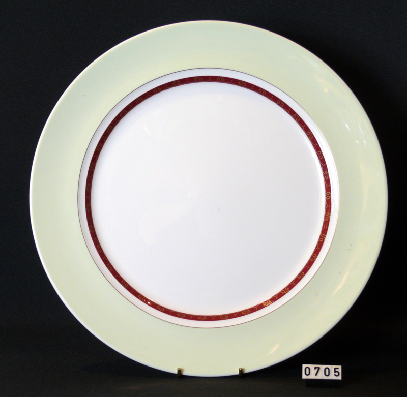 Défilé / Mint- Onderbord of Gourmetbord  31 cm