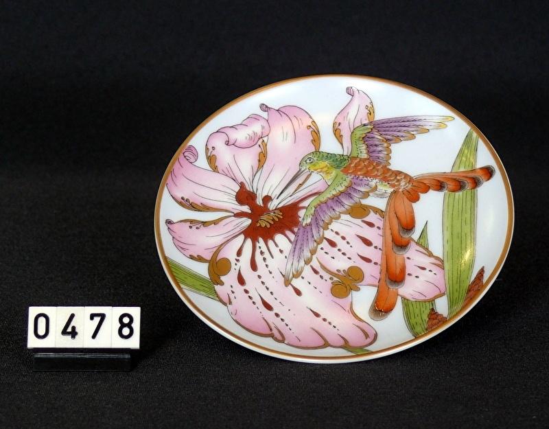 Wandbordje Ø 16 cm porcelein