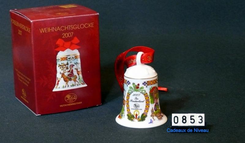 2007 Kerstklokje porselein Hutschenreuther