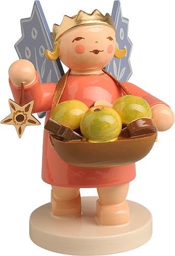 6235/3 Kroon Engel met korf fruit 6 cm