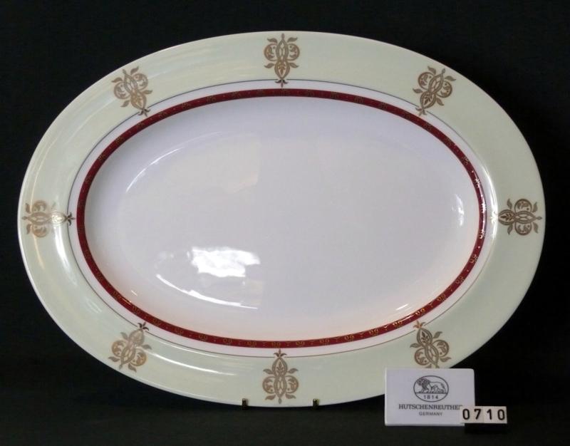 Défilé /Mint-Plat/Ovale Vleesschaal 39 cm