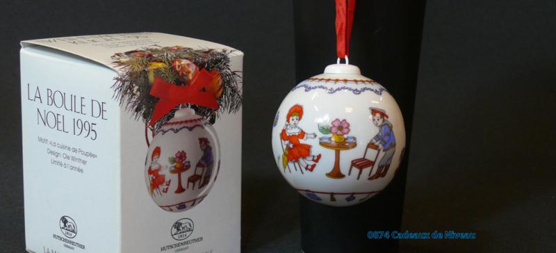 1995 Kerstbal Porselein, Hutschenreuther